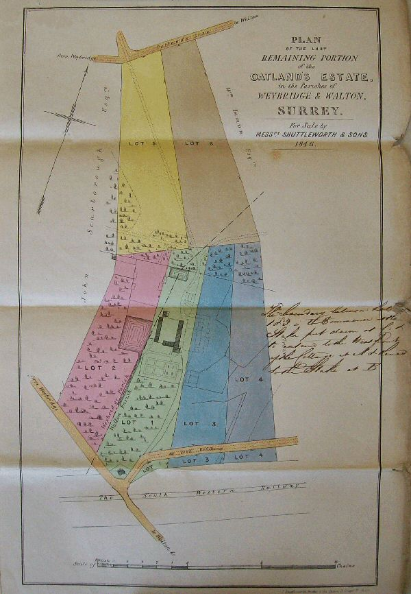18 Sept 1846 - Sale Plan
